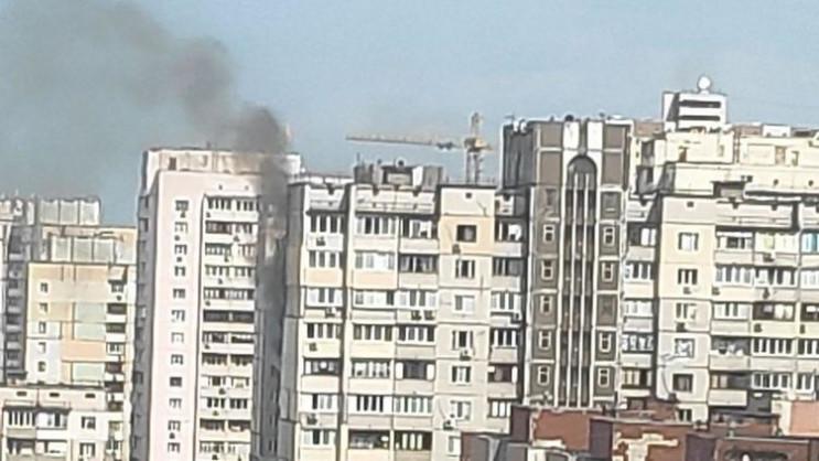 В ДСНС розказали подробиці пожежі на Поз…