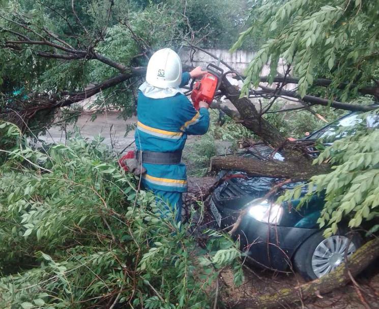 На Донеччині рятувальники усувають наслі…