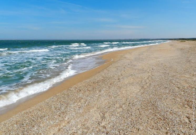 В Азовском море на херсонском курорте ут…