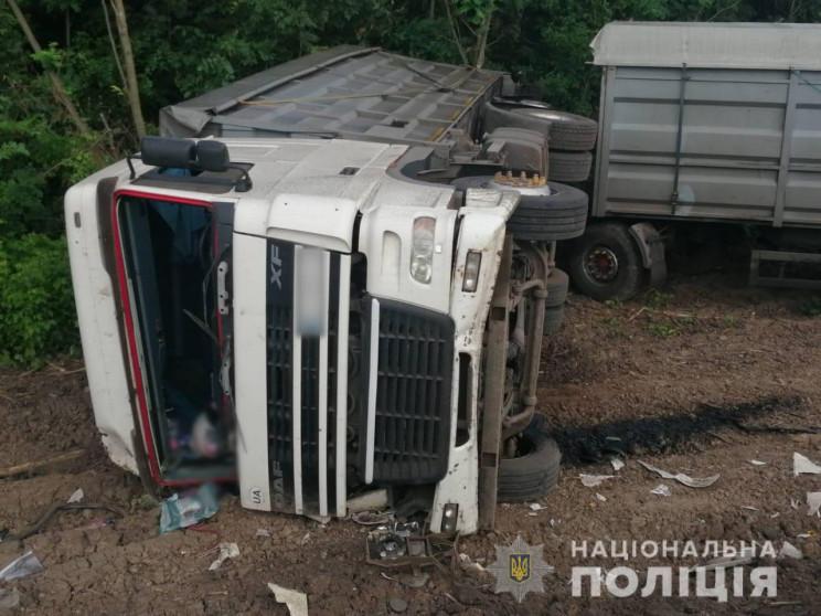На Харьковщине возле трассы нашли переве…