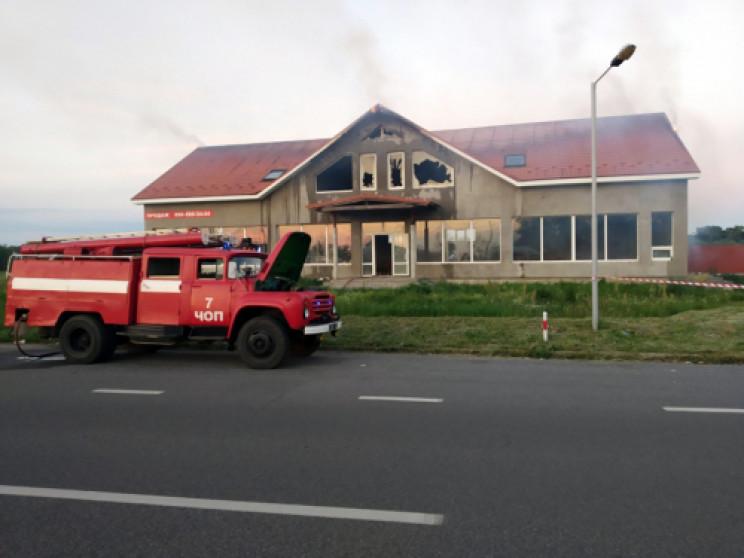 """Поблизу КПП """"Тиса"""" сталася пожежа…"""
