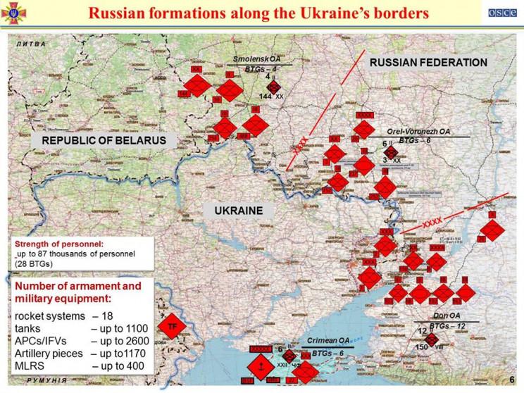 На кордоні з Україною Росія має три поту…
