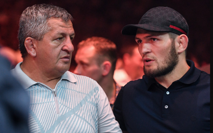 Помер батько бійця Нурмагомедова…
