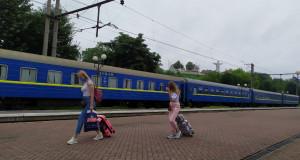 Как в Трускавец прибыл первый поезд из К…