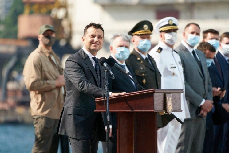 Зеленський привітав моряків з Днем ВМС…