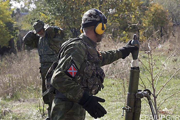 Війна на Донбасі: Окупанти обстрілюють п…
