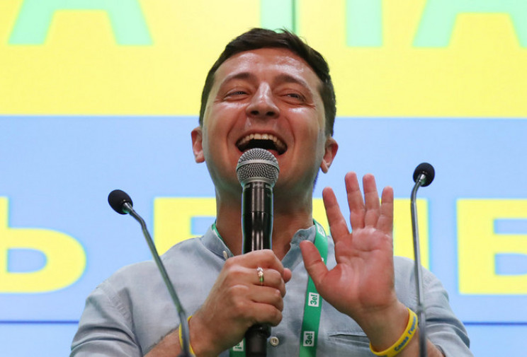 """Зеленский записал """"видосик"""" о своей поез…"""