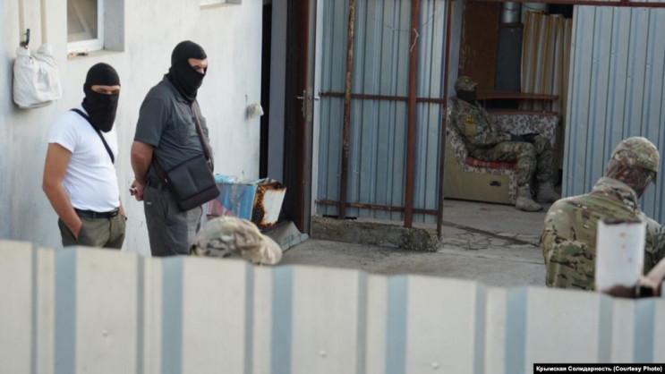 В Крыму оккупанты схватили шестерых крым…
