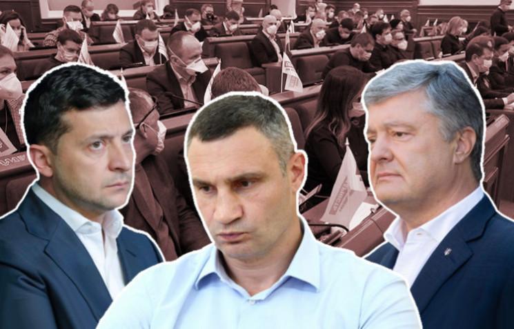 Киевсовет признал политические репрессии…