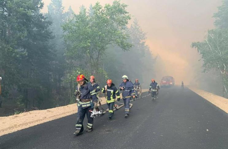 Лесные пожары на Луганщине: Один человек…