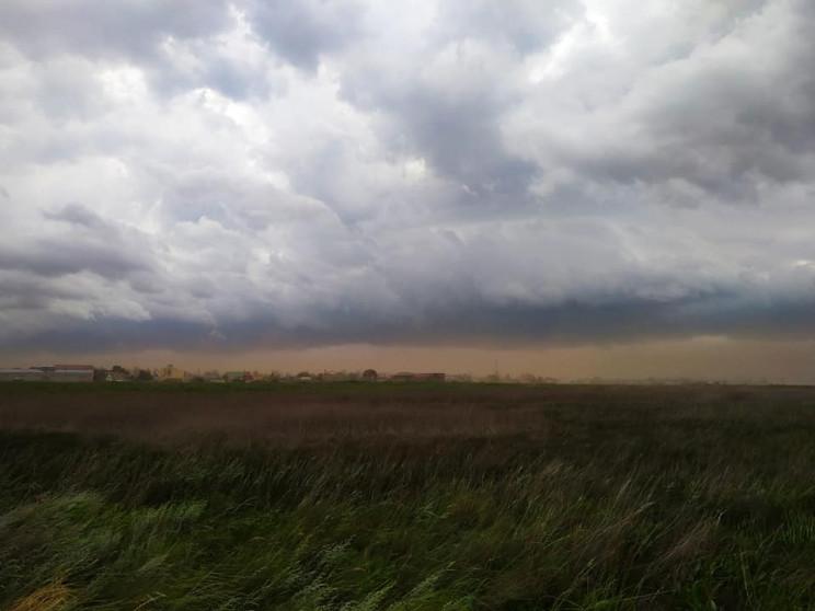 На Одесчине свирепствовала песчаная буря…