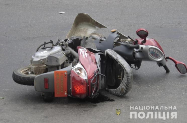 На Вінниччині в ДТП потрапили мопедистка…