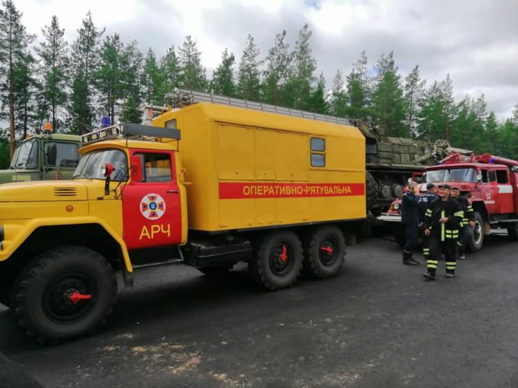 На Луганщине до сих пор горят два очага…