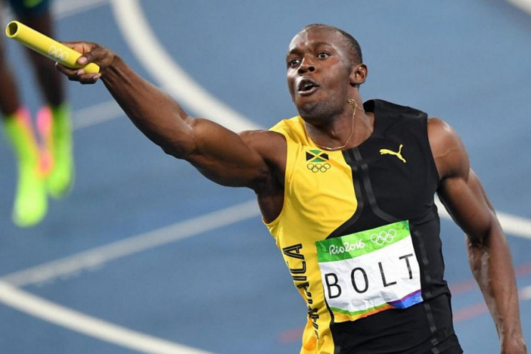 Знаменитый бегун Болт показал первое фот…