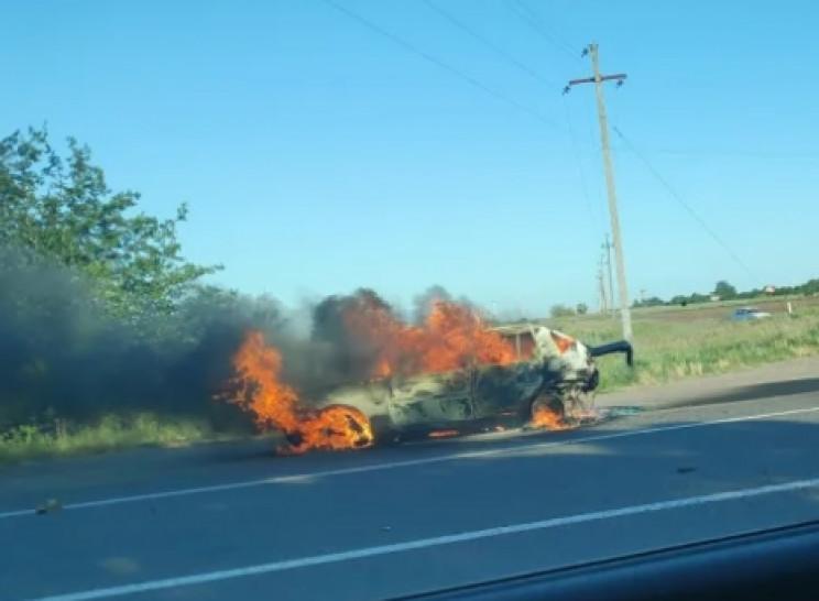 На Николаевщине две машины столкнулись и…