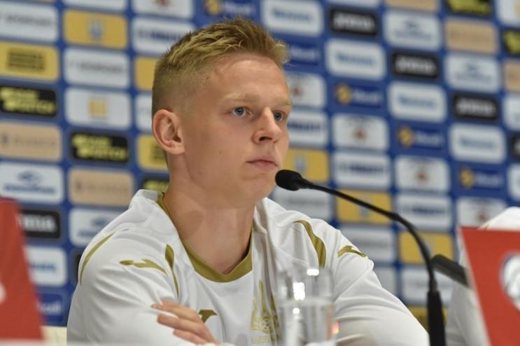 Український футболіст Зінченко разом із…