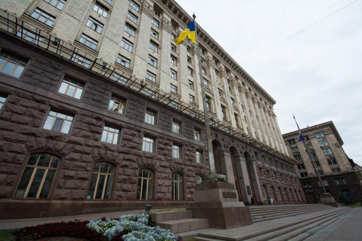 """""""Європейська Солідарність"""" у Києві випер…"""