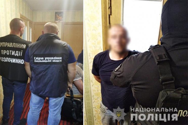 Таксист і вбивця: У Хмельницькому затрим…