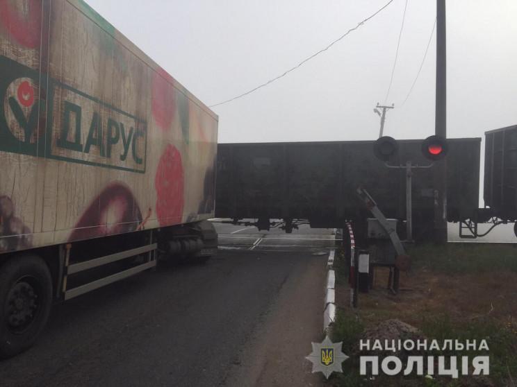 На автодорозі Одеса - Ізмаїл вантажівка…