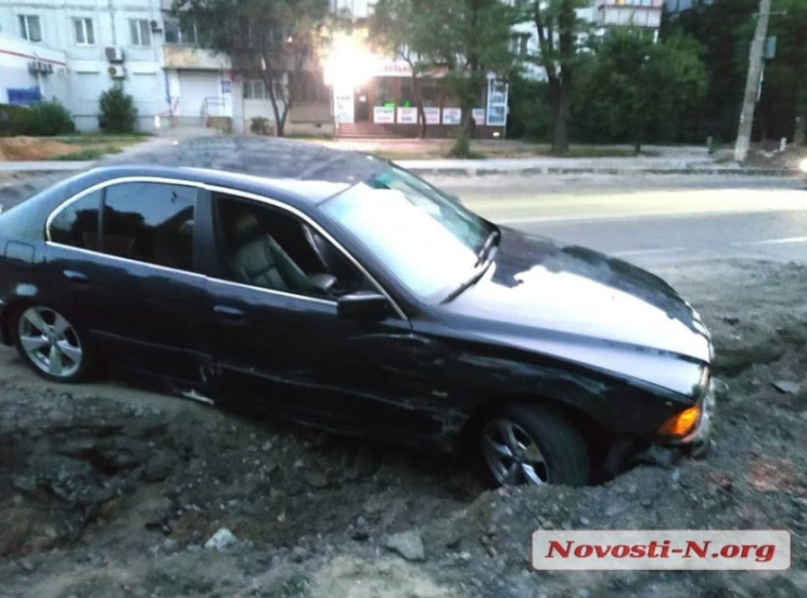 З'явилося відео, як у Миколаєві зіткнули…