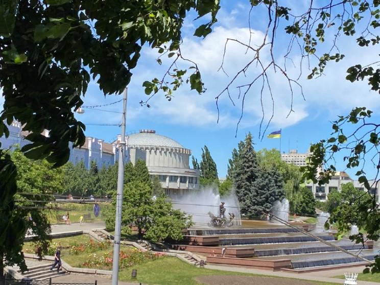 """У Сумах призупинив роботу фонтану """"Садко…"""