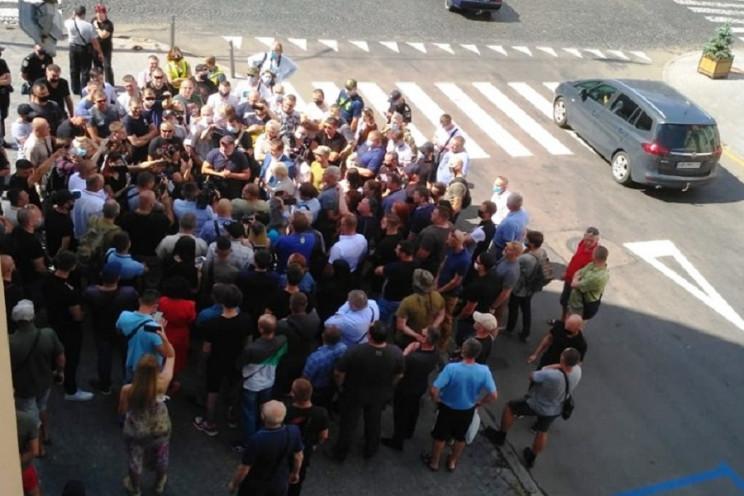 В Виннице АТОвцы поссорились с председат…