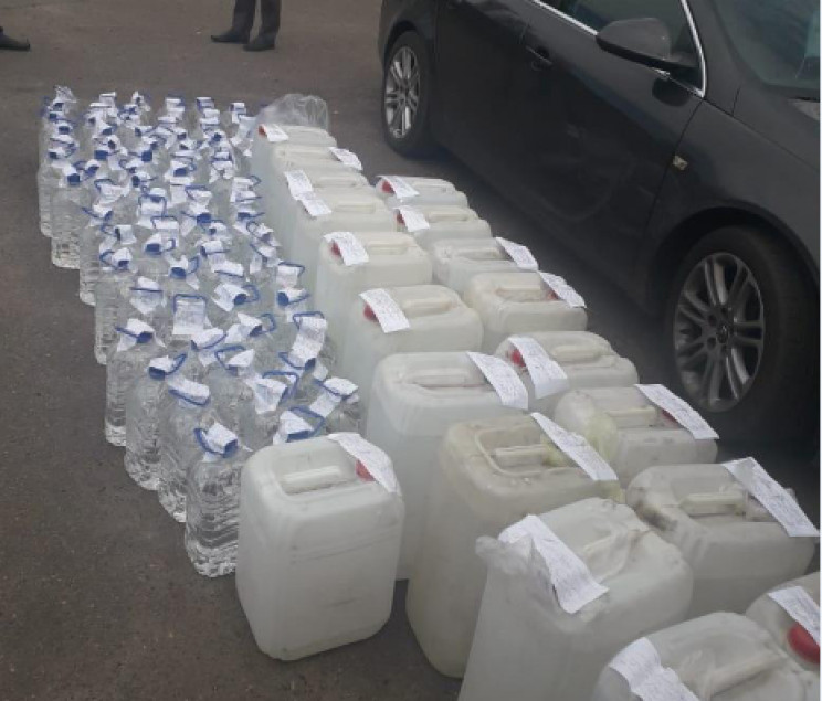 На Кропивниччині виявили 32 тонни незако…