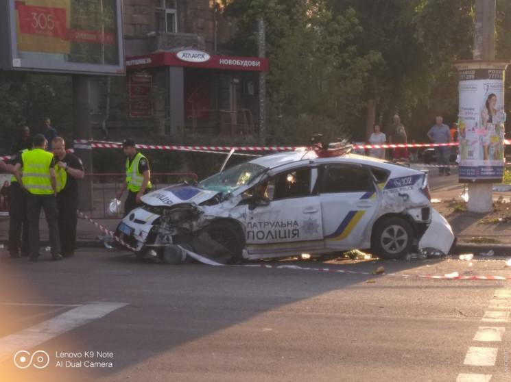 Страшна аварія з патрульними в Одесі: Ст…