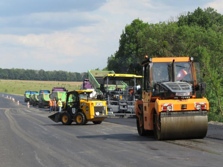 На об'їзній Хмельницького триває ремонт…