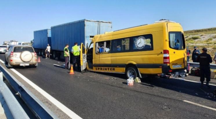 Страшна аварія у Криму: Серед пасажирів…