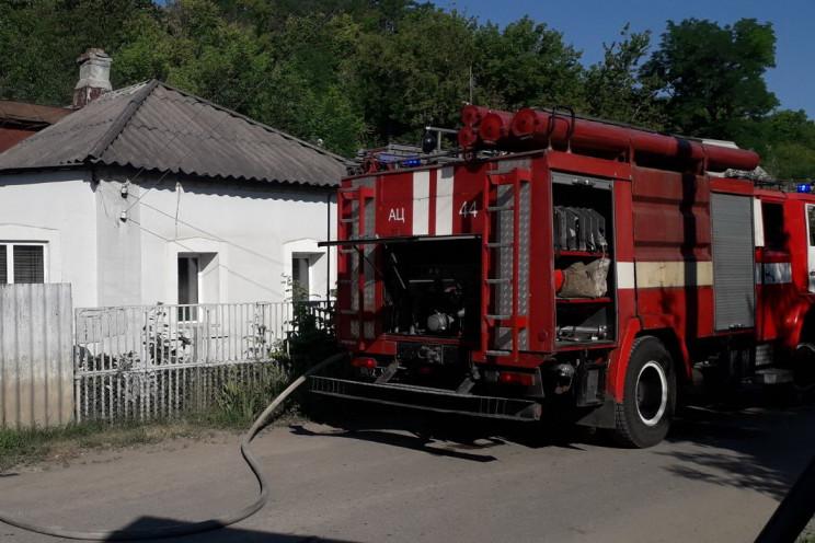 На Харківщині у житловому будинку спалах…