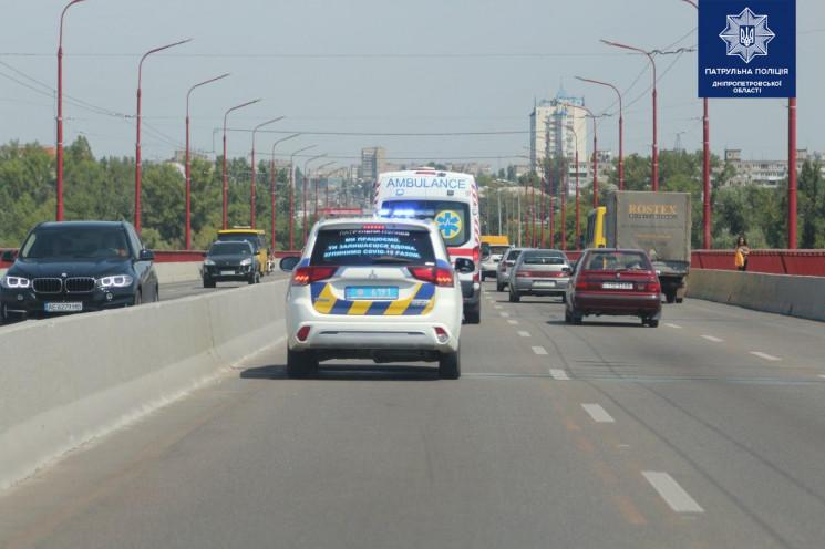 У Дніпрі поліцейські ловили порушників з…