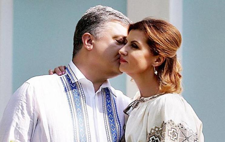 Петр Порошенко празднует Пасху во Львове…