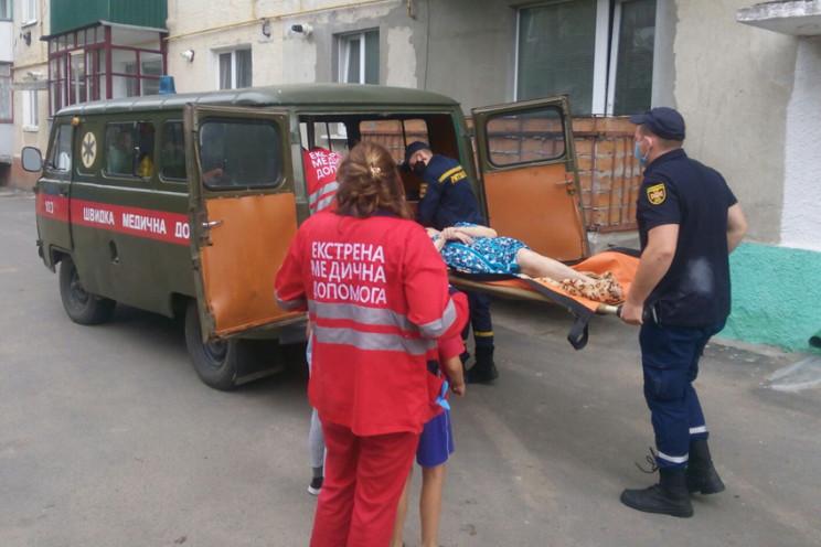 На Хмельниччині рятувальники допомогли м…