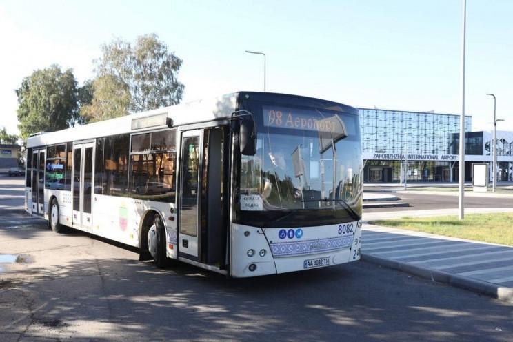 У Запоріжжі запрацював новий автобусний…