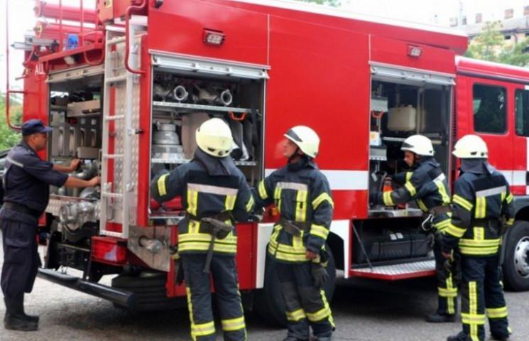 У Львові загасили пожежу…