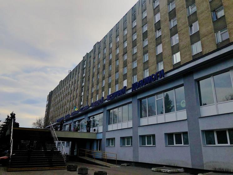 У львівській лікарні облаштують вертоліт…