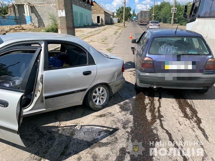 У Миколаєві внаслідок ДТП постраждали се…