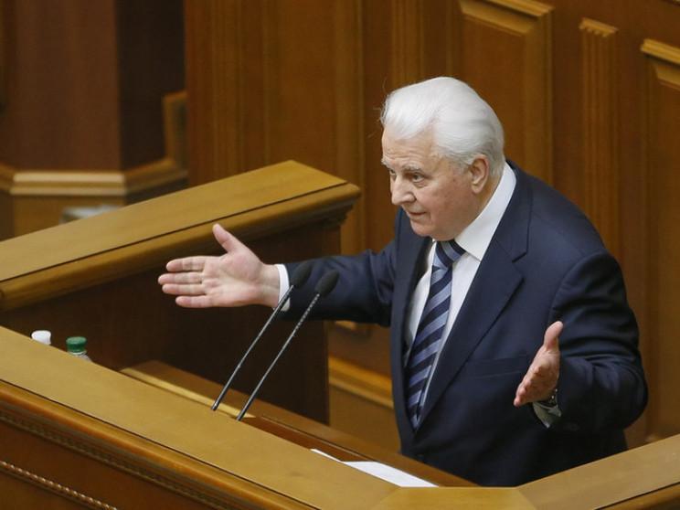 Кравчук зробив гучну заяву щодо внесення…