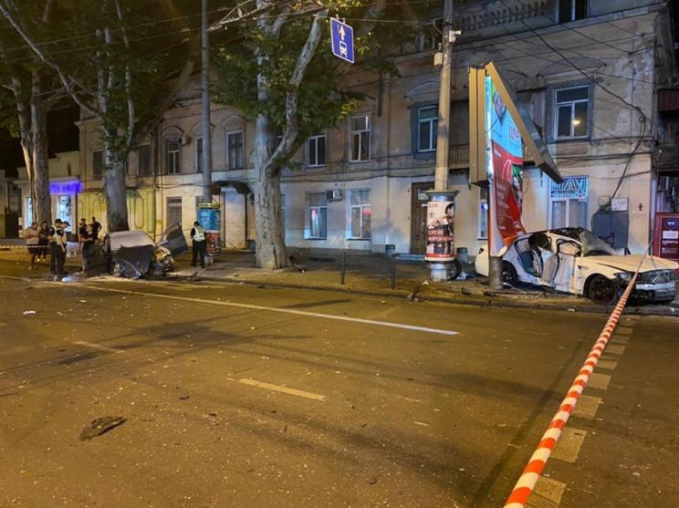 Страшна аварія у центрі Одеси: Постражда…