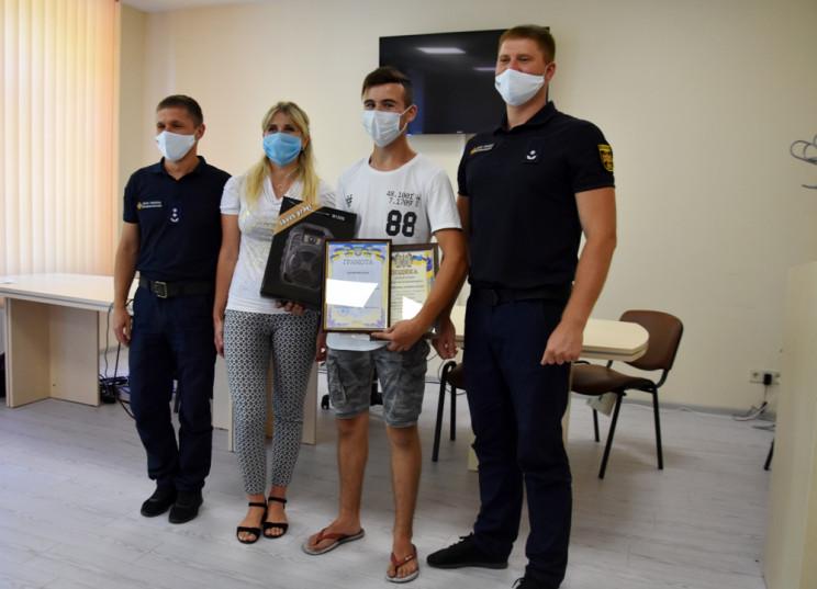На Одещині нагородили 15-річного підлітк…