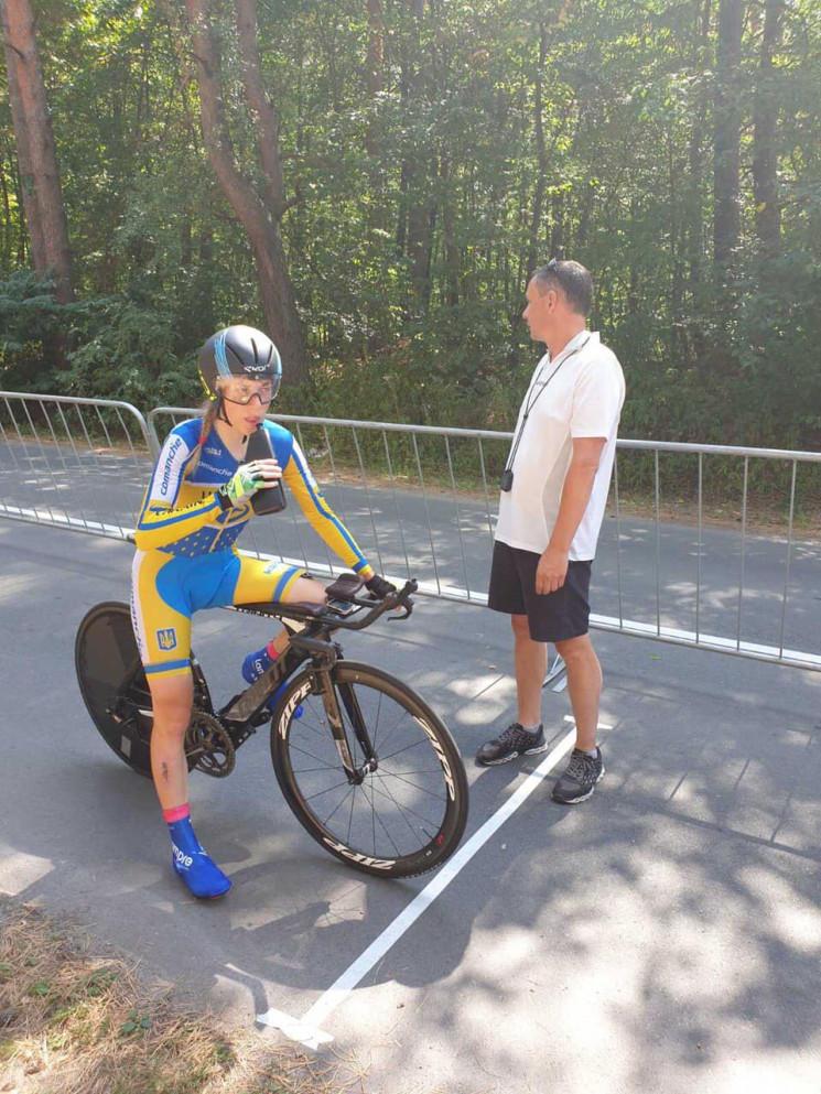 Велосипедистка Юлія Бірюкова - чемпіонка…