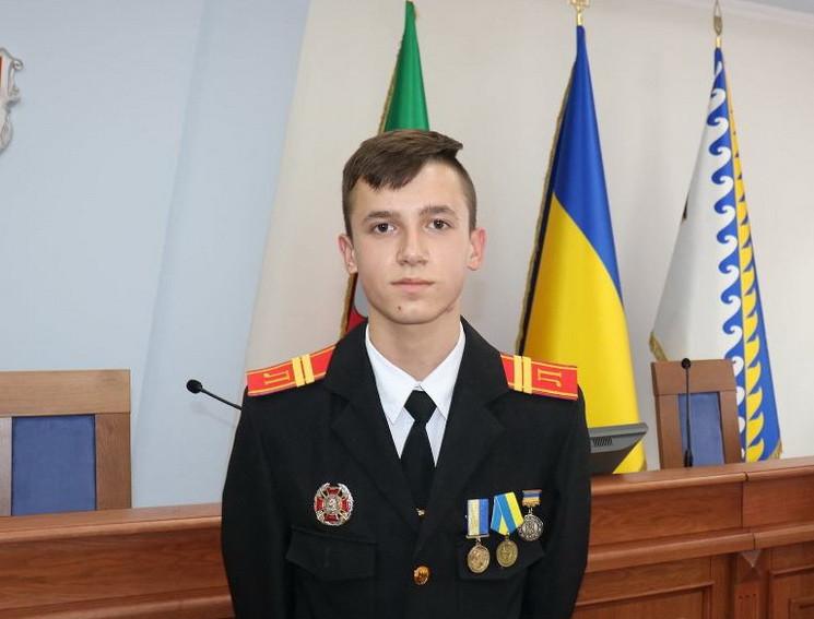 Самым молодым в Украине кавалером ордена…