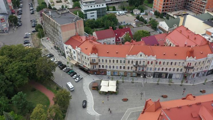 Ремонт площі Петефі в Ужгороді обіцяють…