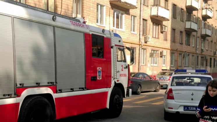 В оккупированном Севастополе загорелось…