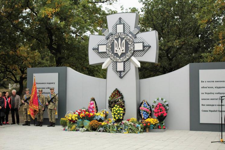 На честь загиблих бійців бригади з Дніпр…