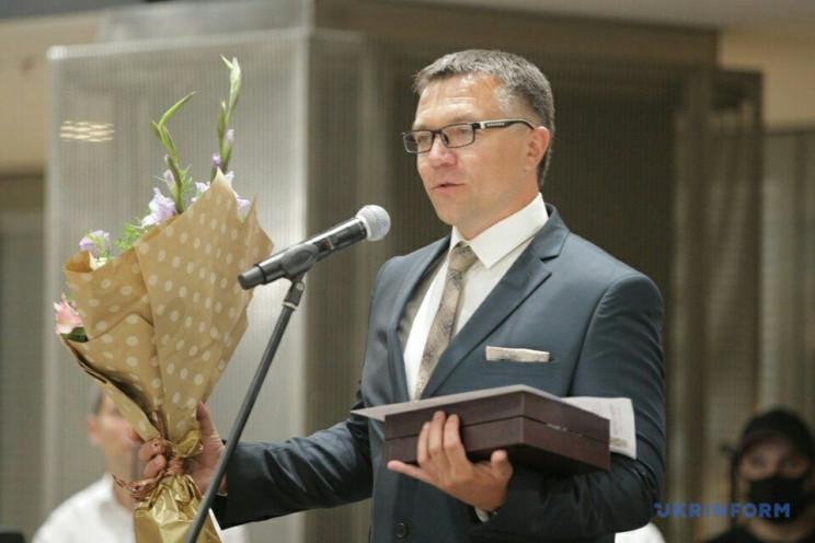 Вінницькому військовому лікарю вручили м…