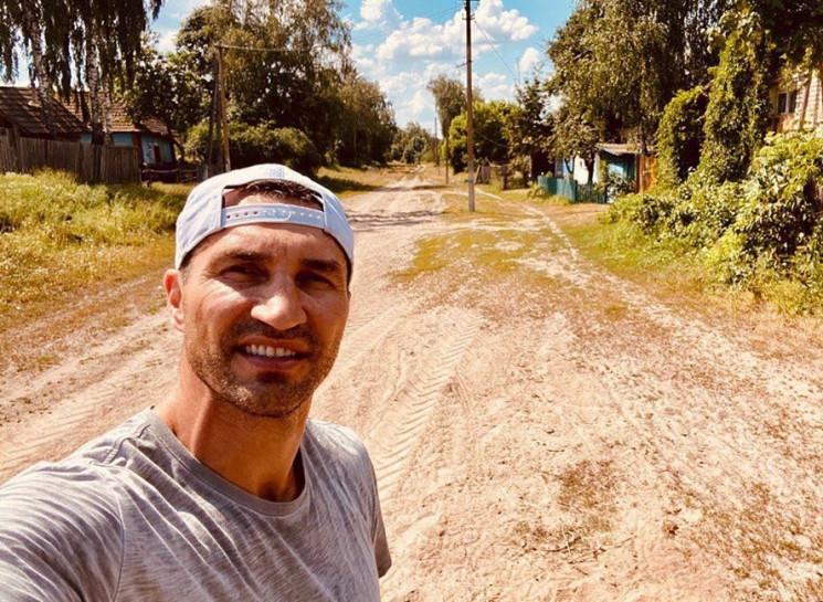 Як боксер Кличко відпочиває в українсько…