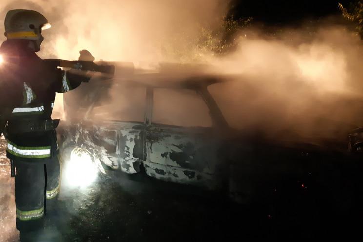 На Дніпропетровщині під час руху згоріла…