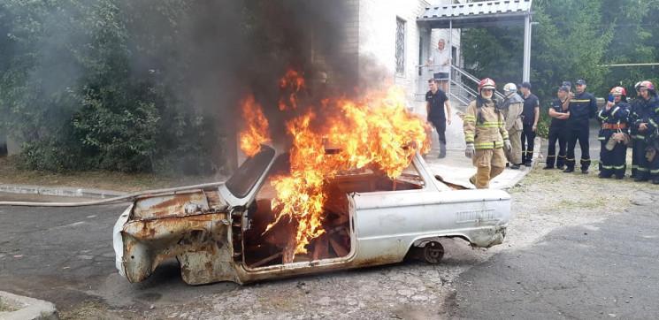 Як на Дніпропетровщині рятувальники підп…